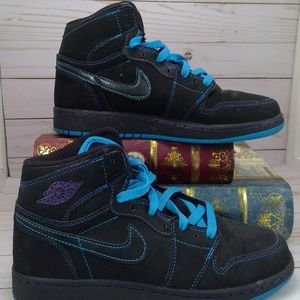 Nike Air Jordan retro high Black/ Orion Blue